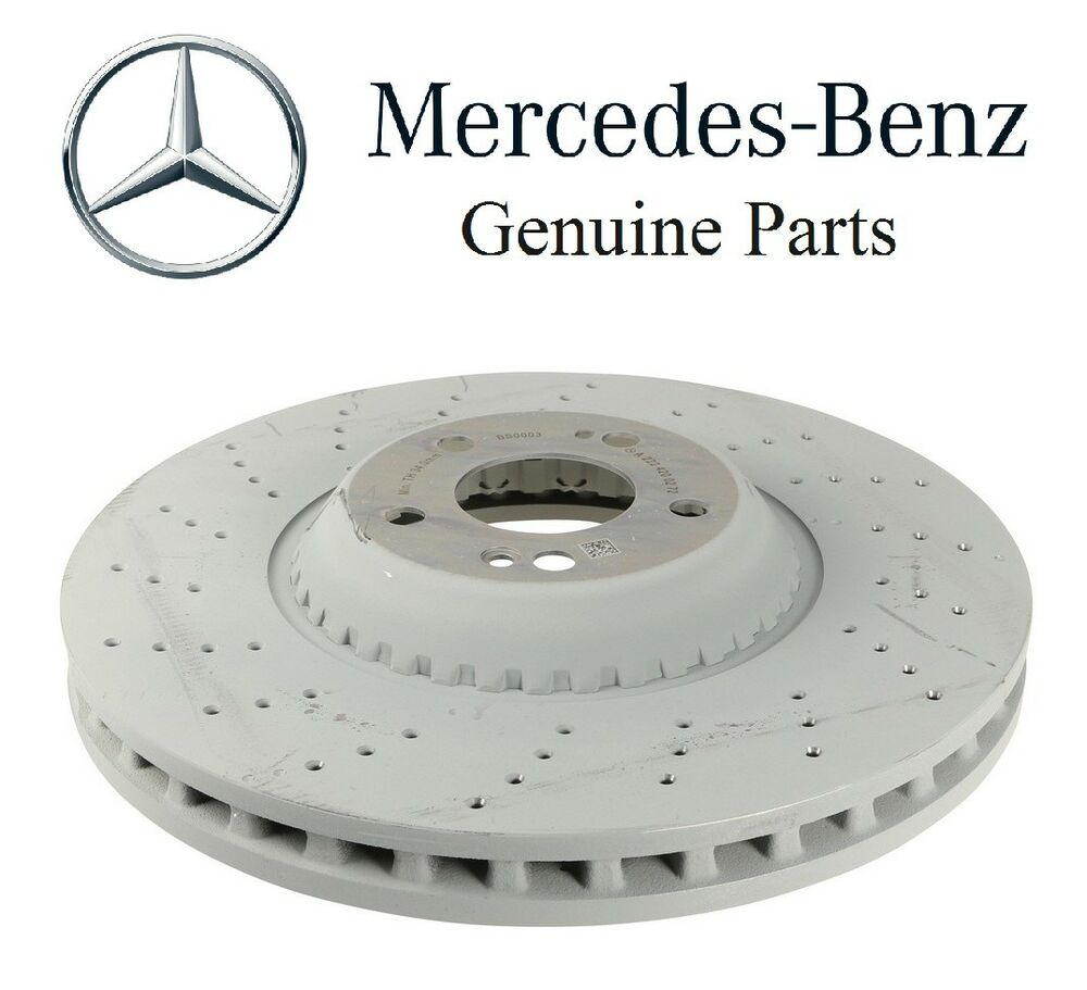 New mercedes w222 s550 2014 front disc brake rotor genuine for Mercedes benz s550 parts and accessories