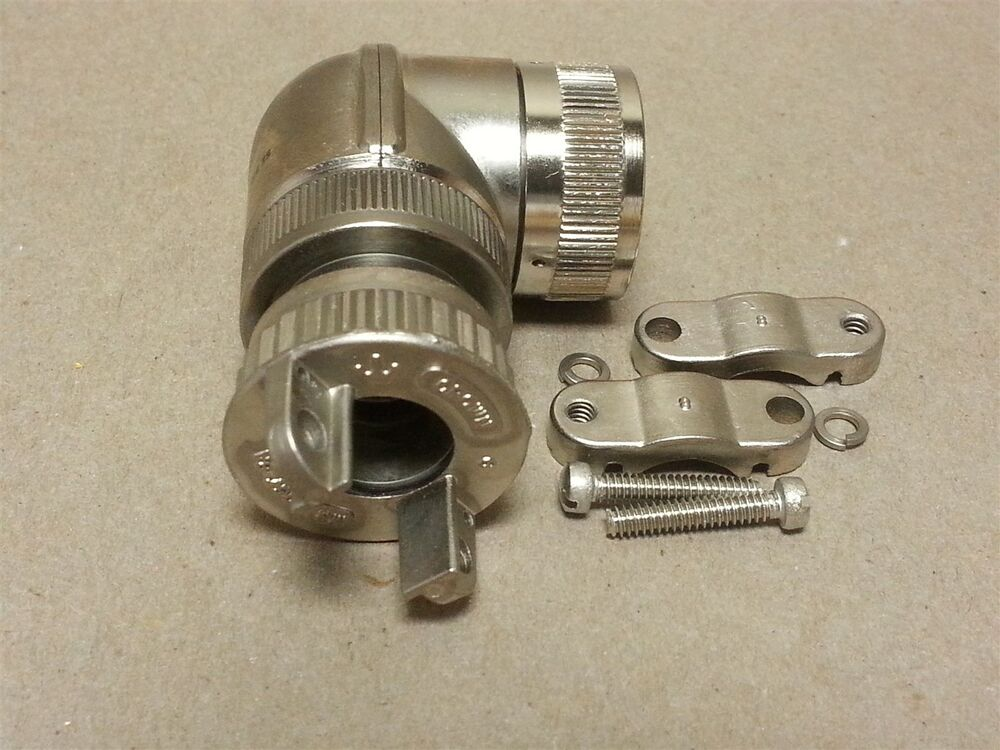 Aircraft Cable Connectors : Josilyn sunbank military aircraft connector backshell part