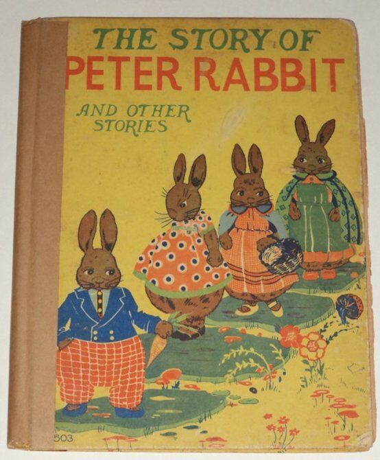 the story of peter rabbit other stories 1928 great color illustrations see ebay. Black Bedroom Furniture Sets. Home Design Ideas