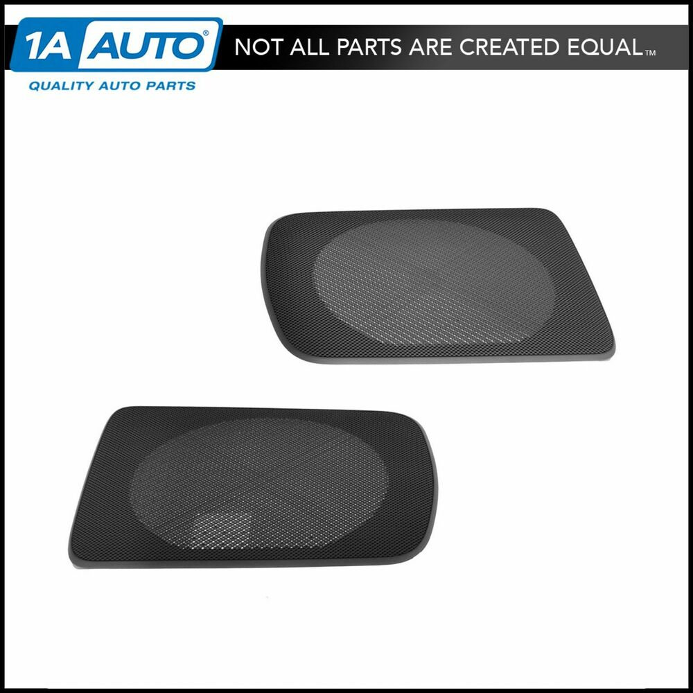 toyota speaker grille cover gray replacement rear pair for 02 06 toyota camry ebay. Black Bedroom Furniture Sets. Home Design Ideas