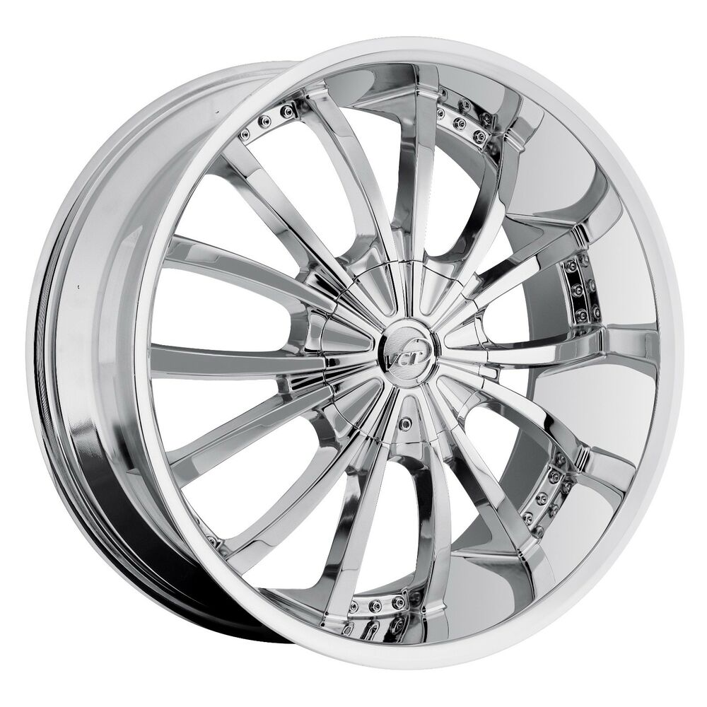 20 csquared c17 chrome wheels tires fit 5x114 3 40 offset vehicles and more ebay. Black Bedroom Furniture Sets. Home Design Ideas