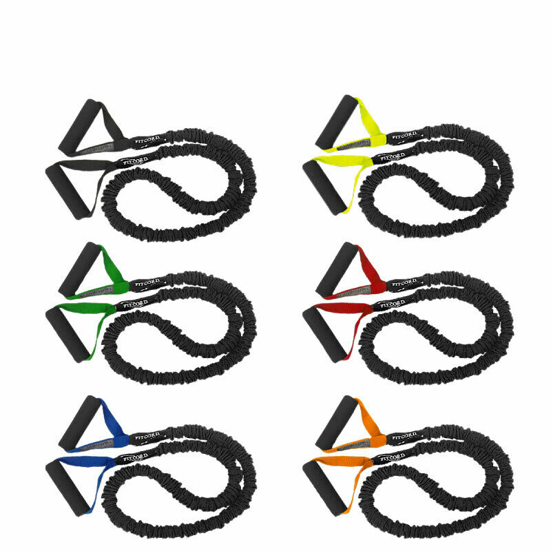 FITCORD 6 Pack Very Light-Ultra Heavy COVERED Resistance