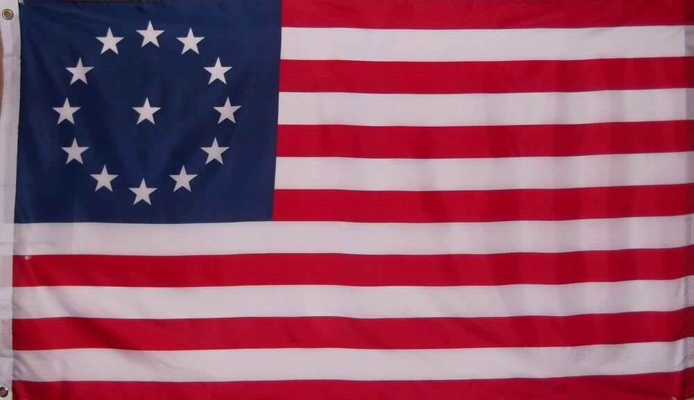 New Country Mini >> COWPENS FLAG - 3RD MARYLAND REGIMENT 1781 - PATRIOT ...