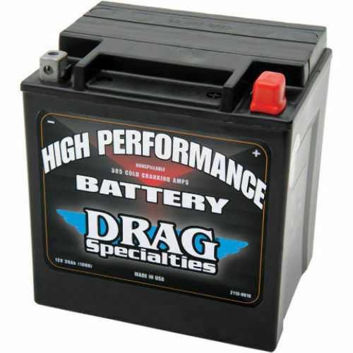 drag specialties battery harley davidson touring 69 16 flt. Black Bedroom Furniture Sets. Home Design Ideas