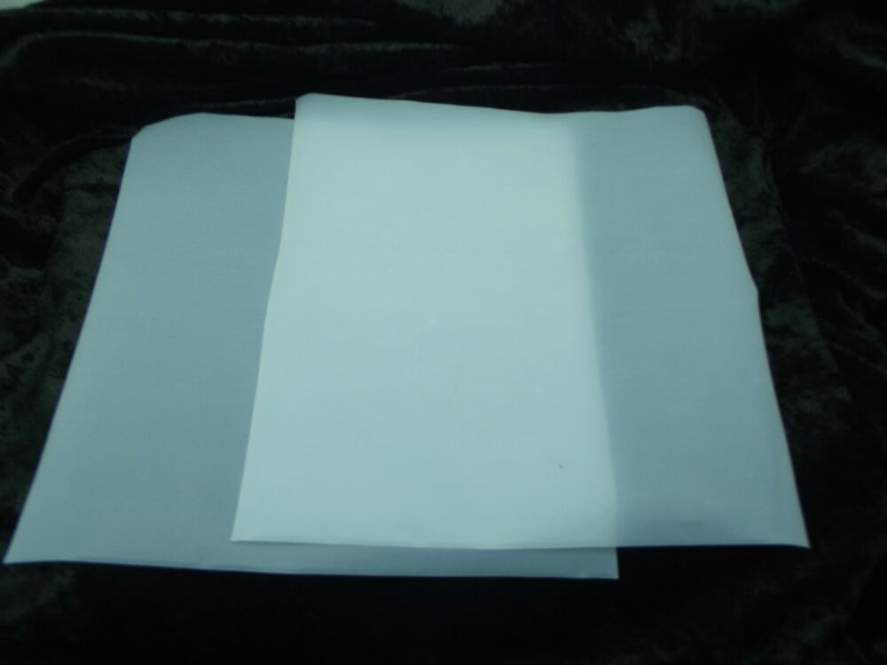 teflon paper Teflon cover sheet - made in usa our ptfe cover sheet is a multi-functional necessity  using heat transfer paper for white shirts, you will get a slow, gradual .