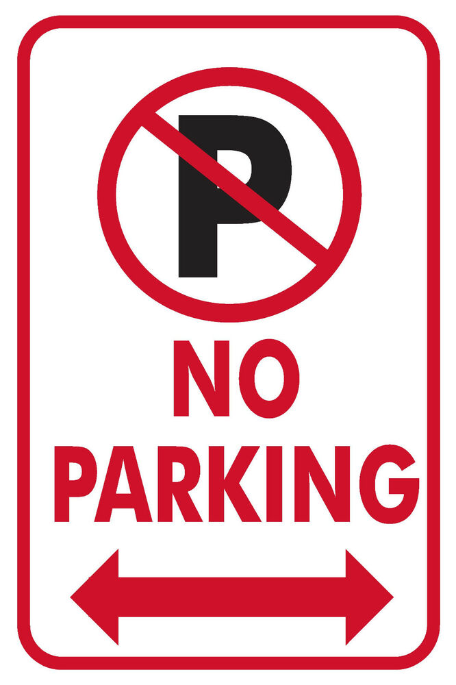 It is a photo of Playful Printable No Parking Sign