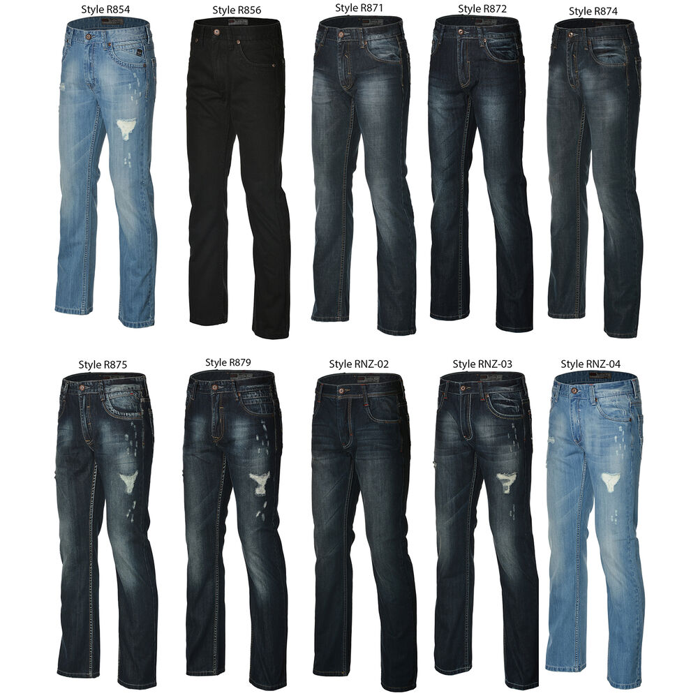 Types of Jeans Cut