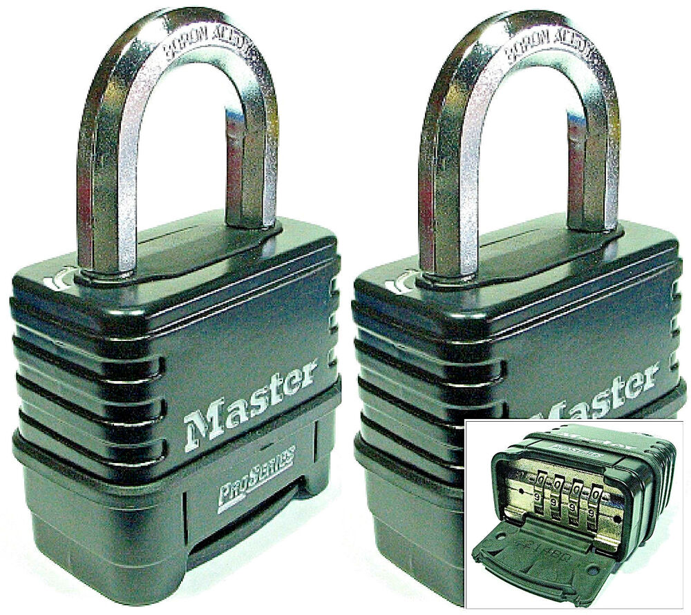 Combination Lock Set By Master 1178D (Lot 2) Resettable
