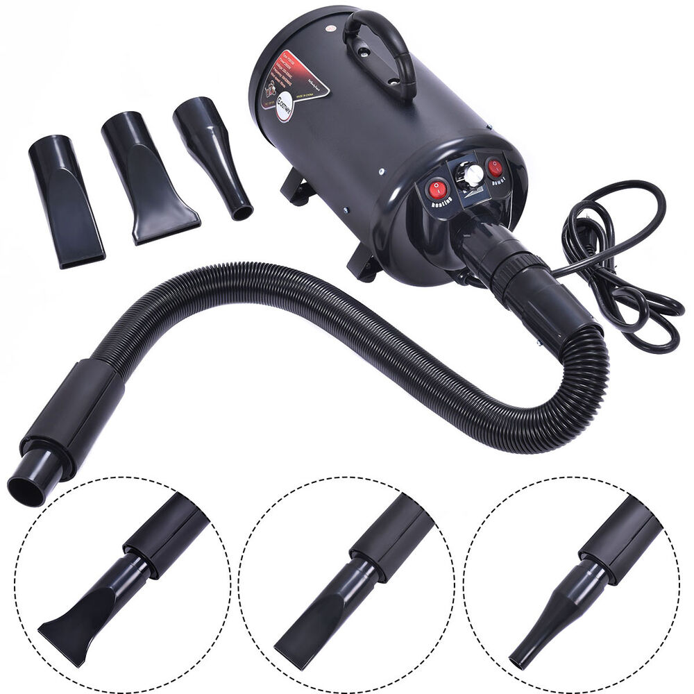 Portable Dog Cat Pet Groomming Blow Hair Dryer Quick Draw