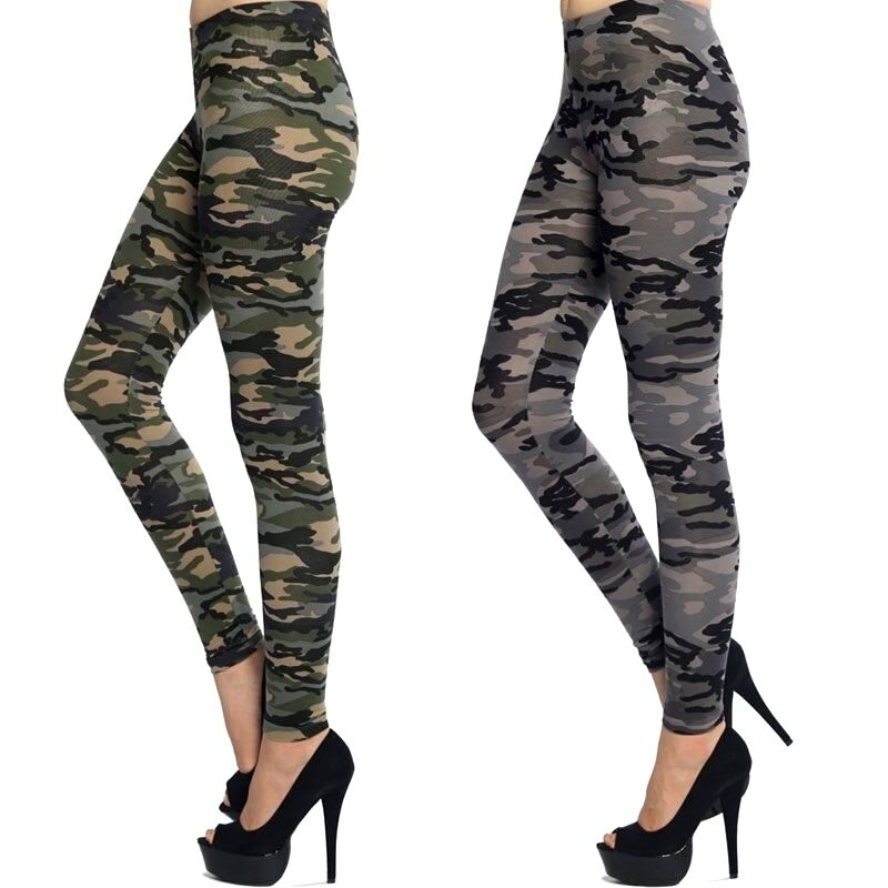 Army OLIVE CHARCOAL CAMO LEGGINGS Camouflage pants Bozzolo ...