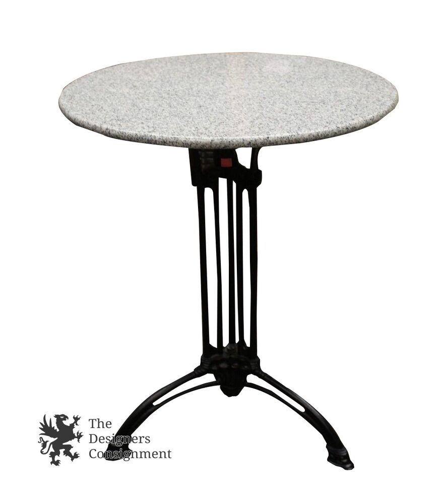 Foyer Table With Granite Top : Contemporary wrought iron side end coffee accent entryway