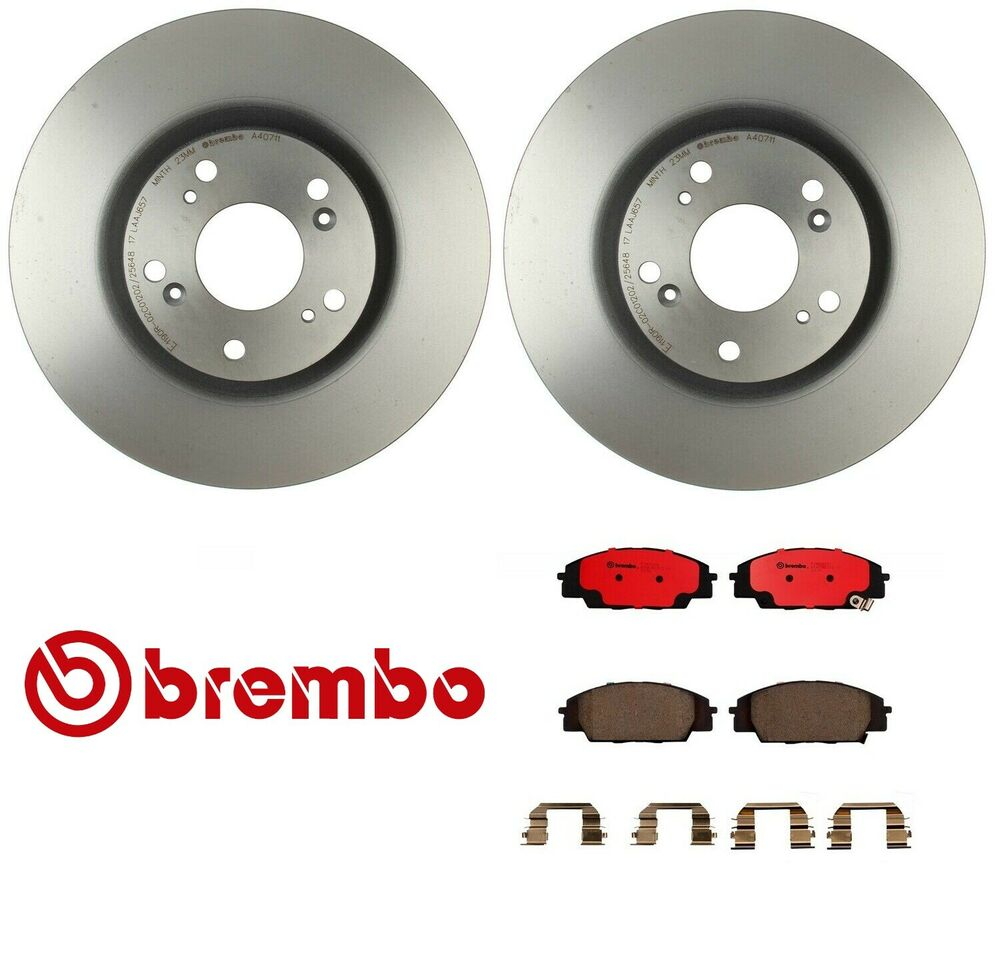 For Acura RSX 02-06 Type S Front Brake Rotors W/ Brake
