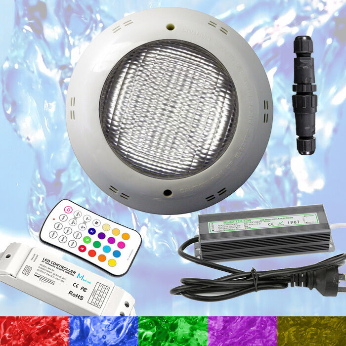 Swimming Pool Spa Led Light Rgb Controller Power Supply Multi Colour New Ebay