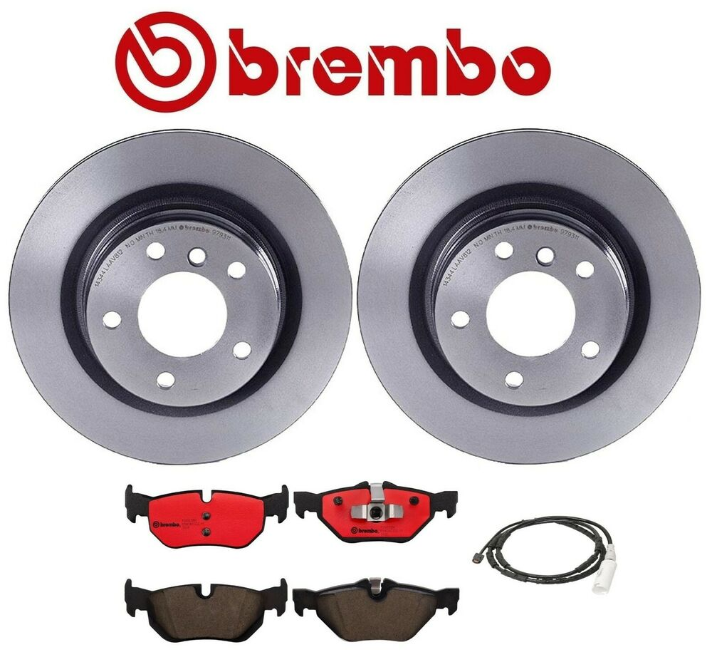 BMW E90 E92 328i 2007-2008 Premium Rear Brake KIT With