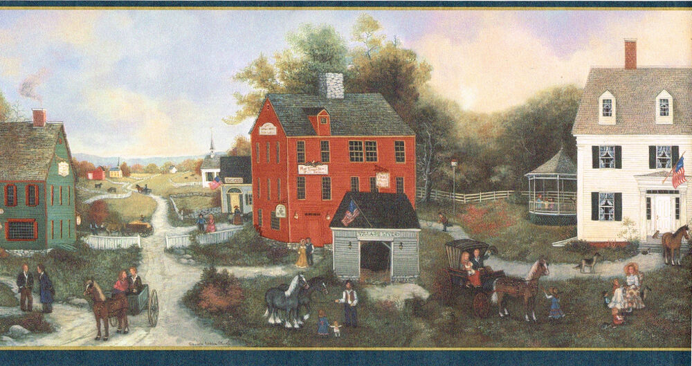 Donna Dewberry American Colonial Village Country Old Town