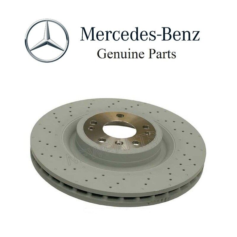 New mercedes w166 ml350 front disc brake rotor 351mm for Mercedes benz e350 brake pads replacement