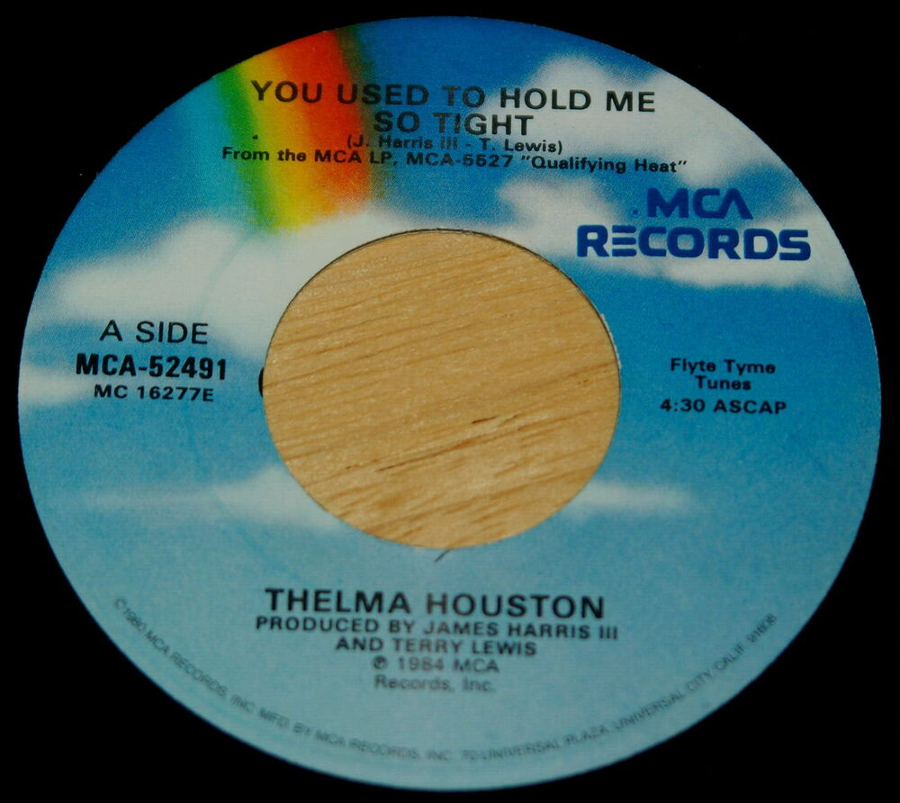 Thelma Houston You Used To Hold Me So Tight