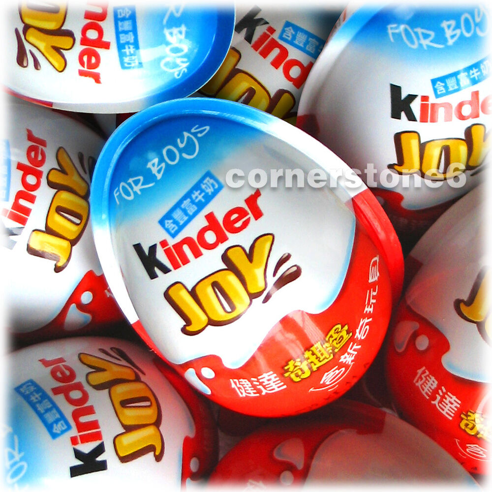 ~ 6 eggs - KINDER Joy Surprise Eggs * for BOYs | eBay
