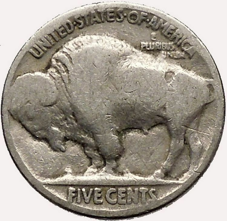 1920 Buffalo Nickel 5 Cents Of United States Of America Usa Antique Coin I43576 Ebay