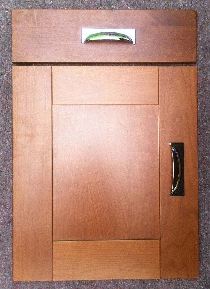 Solid Cherry Wood Shaker Style Kitchen Cupboard Doors For
