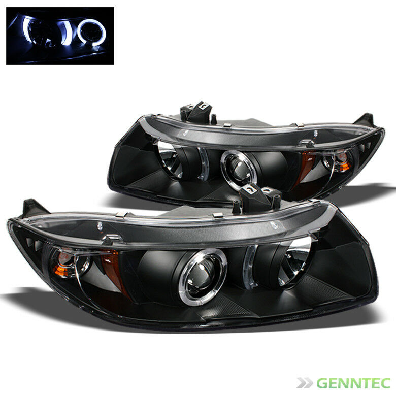 For 2006 2011 Honda Civic 2 Door Twin Halo Projector