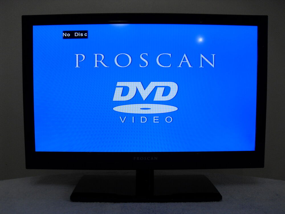 new proscan 19 led hd tv dvd player combo pledv1945a b 58465778965 ebay. Black Bedroom Furniture Sets. Home Design Ideas