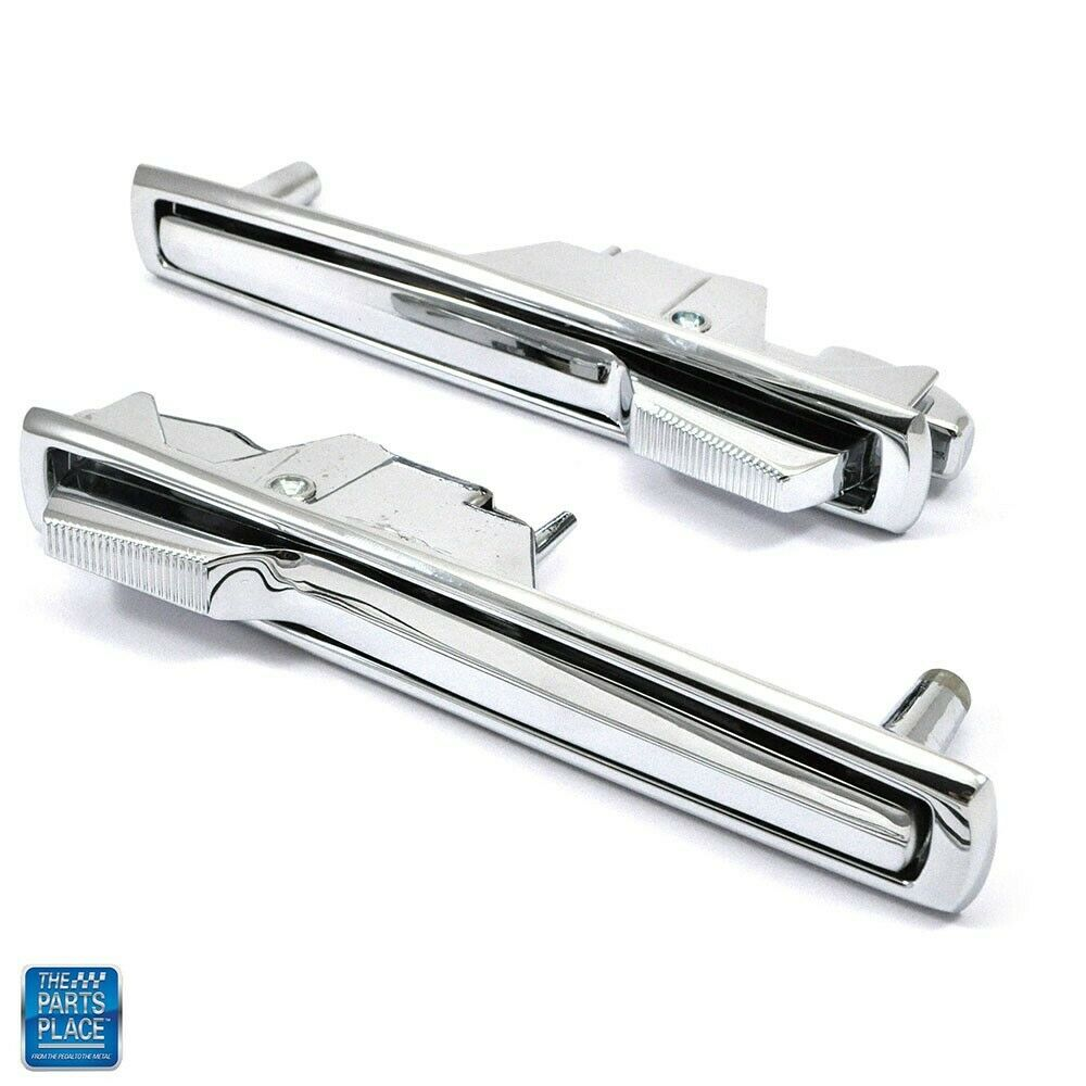 1969 72 Pontiac Grand Prix Chrome Door Handle Set Gm
