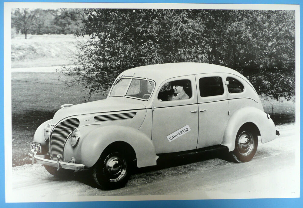 12 by 18 black white picture 1938 ford 4 door sedan ebay for 1938 ford 4 door sedan