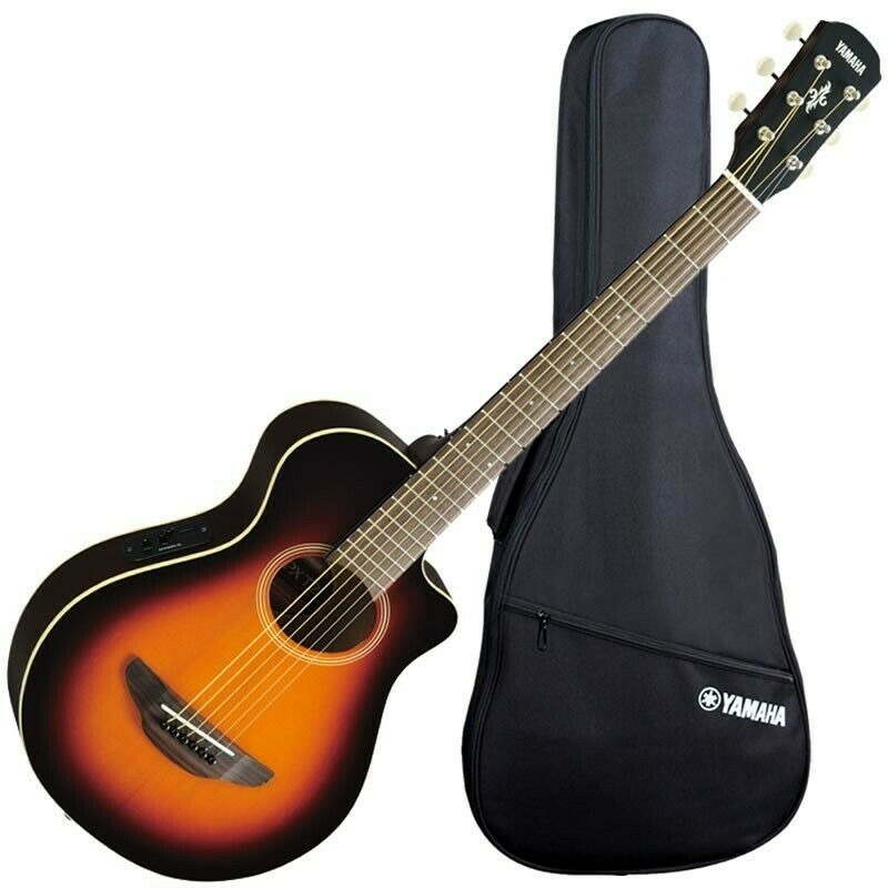 Yamaha apxt2 3 4 scale thinline acoustic electric guitar for 3 4 yamaha acoustic guitar