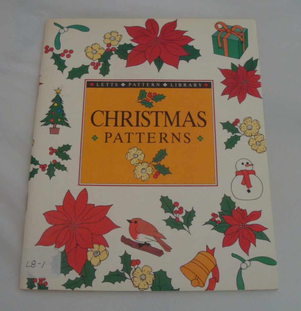 Christmas patterns paperback wood carving