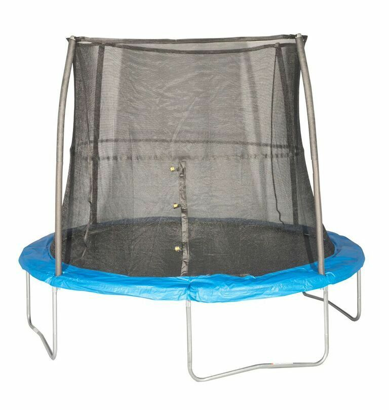 New 14ft Trampoline Combo Bounce Jump Safety Enclosure Net: JumpKing 10' Foot Ft. Outdoor Trampoline And Safety Net