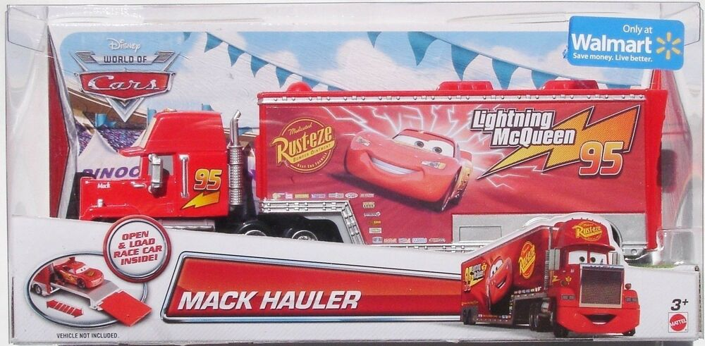 cars mack hauler camion saetta mattel disney pixar ebay. Black Bedroom Furniture Sets. Home Design Ideas