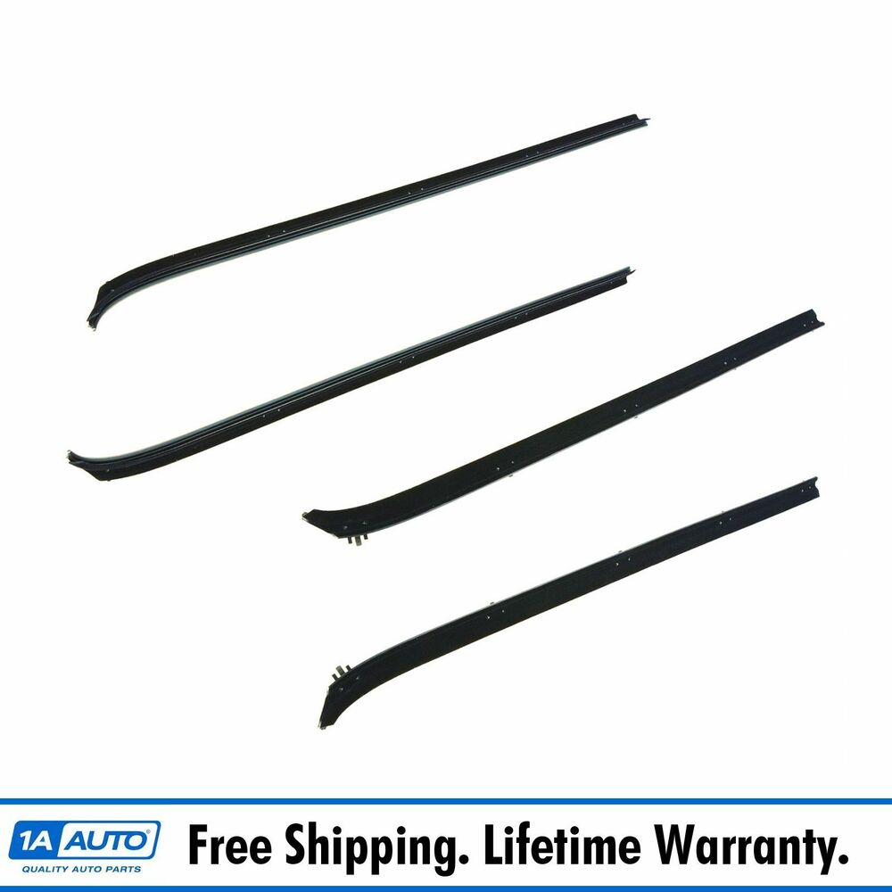 front inner  u0026 outer window sweep kit set of 4 for