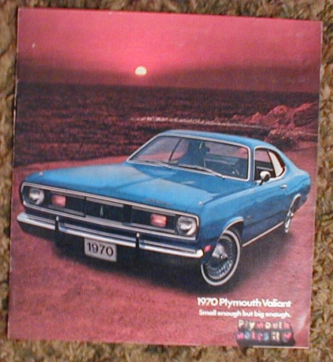 Road Runner Auto Sales >> 1970 Plymouth Valiant Duster Sales Brochure Catalog 70 | eBay