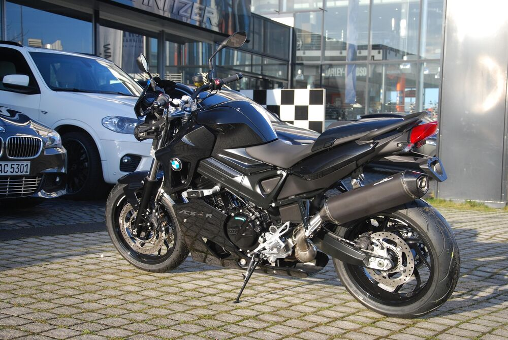 ac schnitzer auspuff exhaust stealth bmw f 800 r ebay. Black Bedroom Furniture Sets. Home Design Ideas