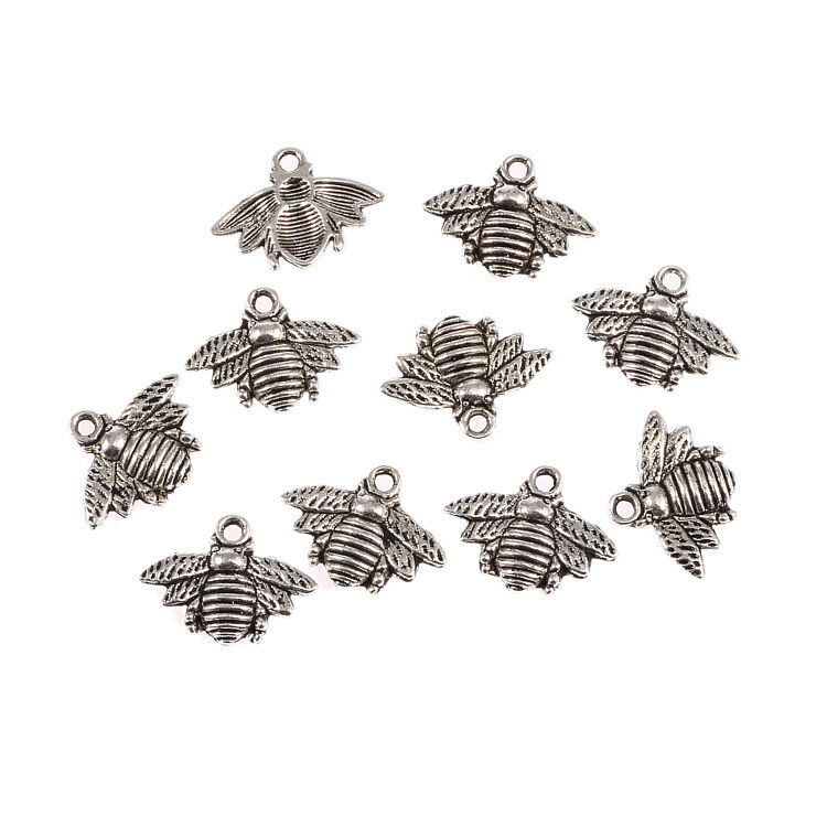 10pcs Tibetan Silver Fashion Nice Bookmarks With Loop Charms Crafts DIY New 86mm