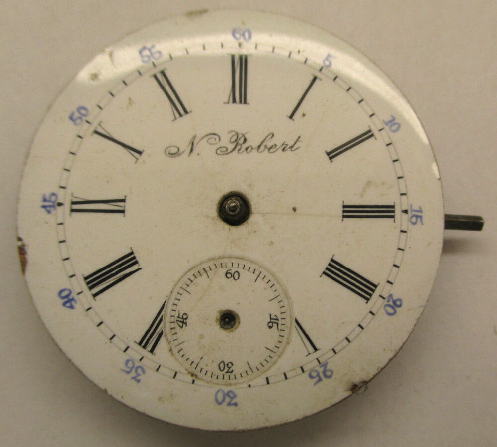 how to replace a pocket watch dial