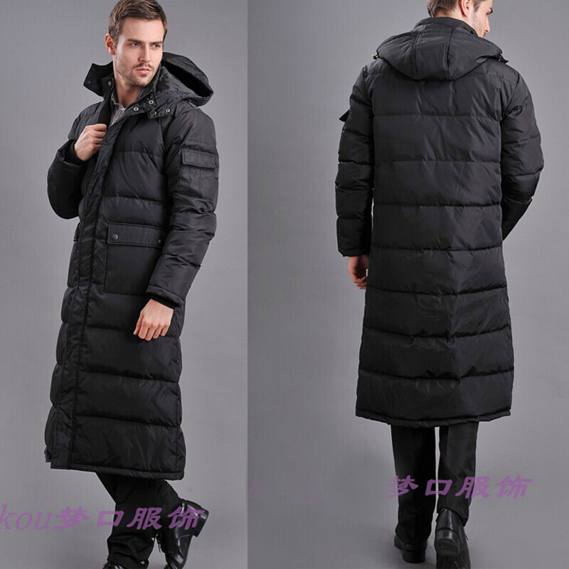 Long Down Jacket Men'S - JacketIn