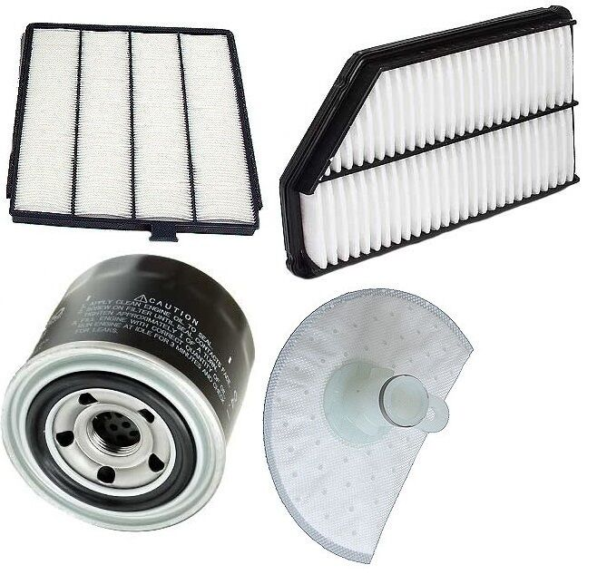 Acura MDX 2001-2002 Premium Tune Up Kit Oil Filter & Cabin