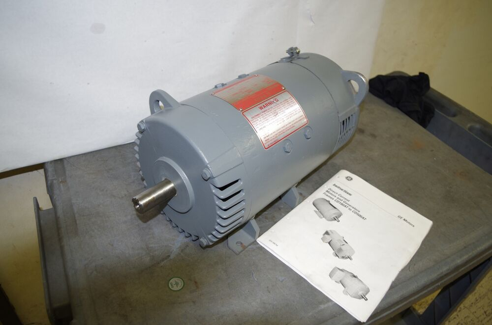 General electric kinamatic 5hp dc motor 5cd144fa002b016 for 500 rpm electric motor