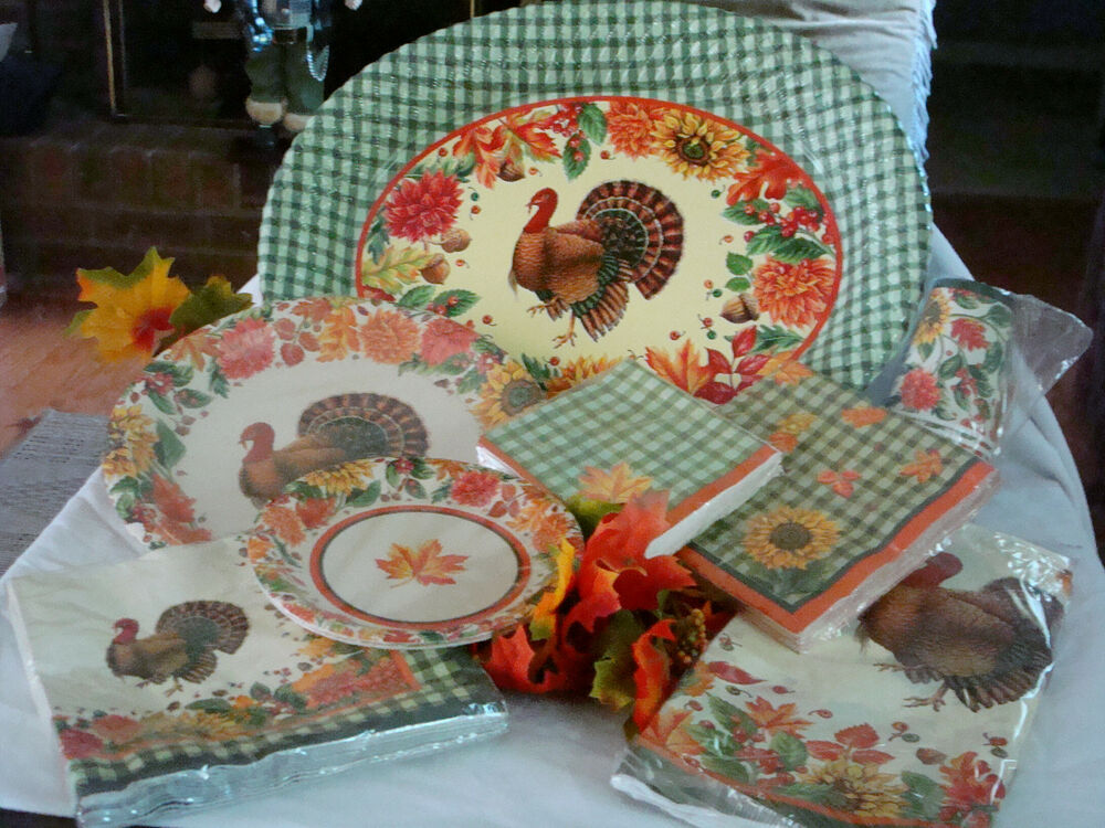thanksgiving paper plates and napkins Shop thanksgiving gifts perfect for all of your friends and family from paper source in all sizes and prices  giving plate $3495  turkey napkin rings set of 8.