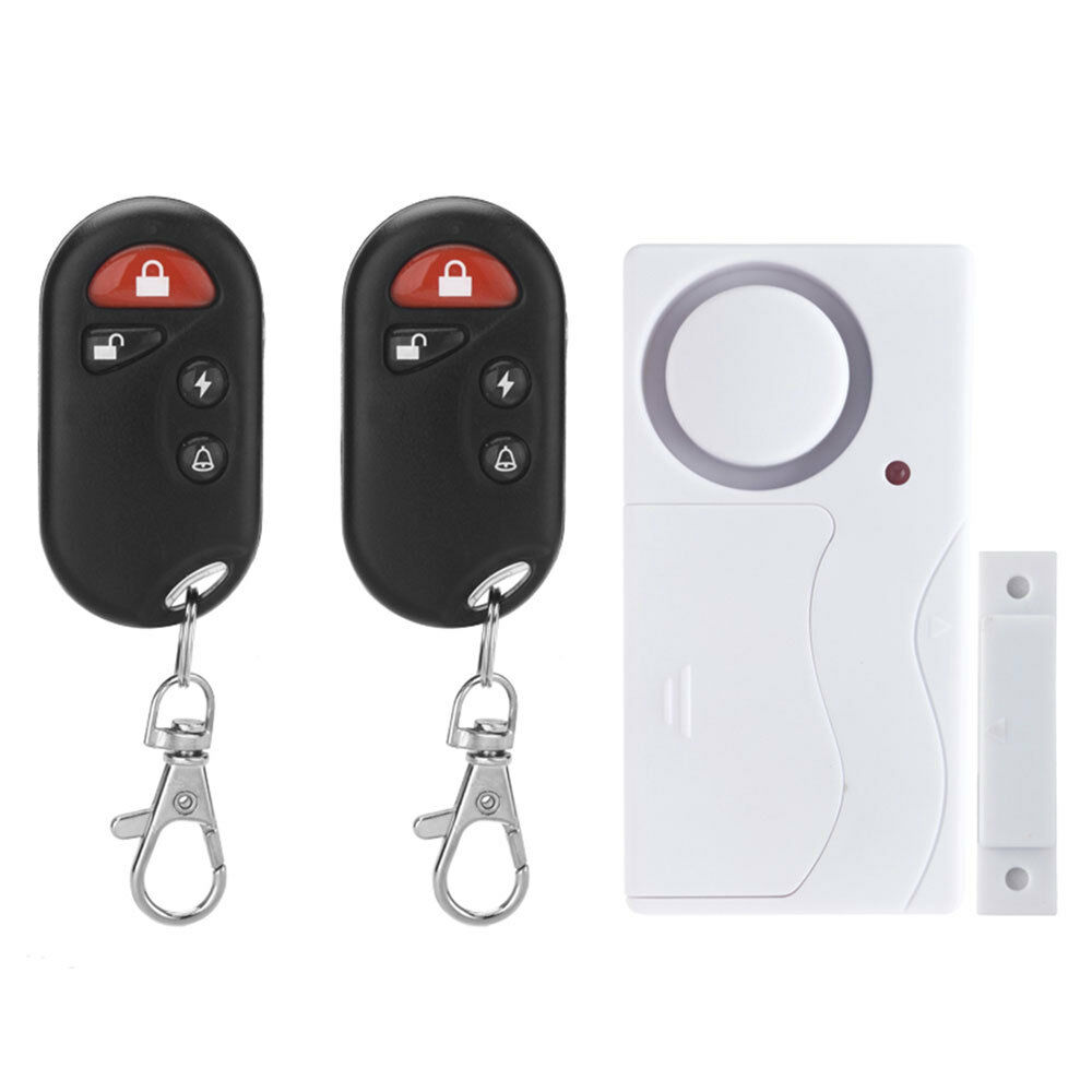 Magnetic Contacts Door Window Entry Alarm System With