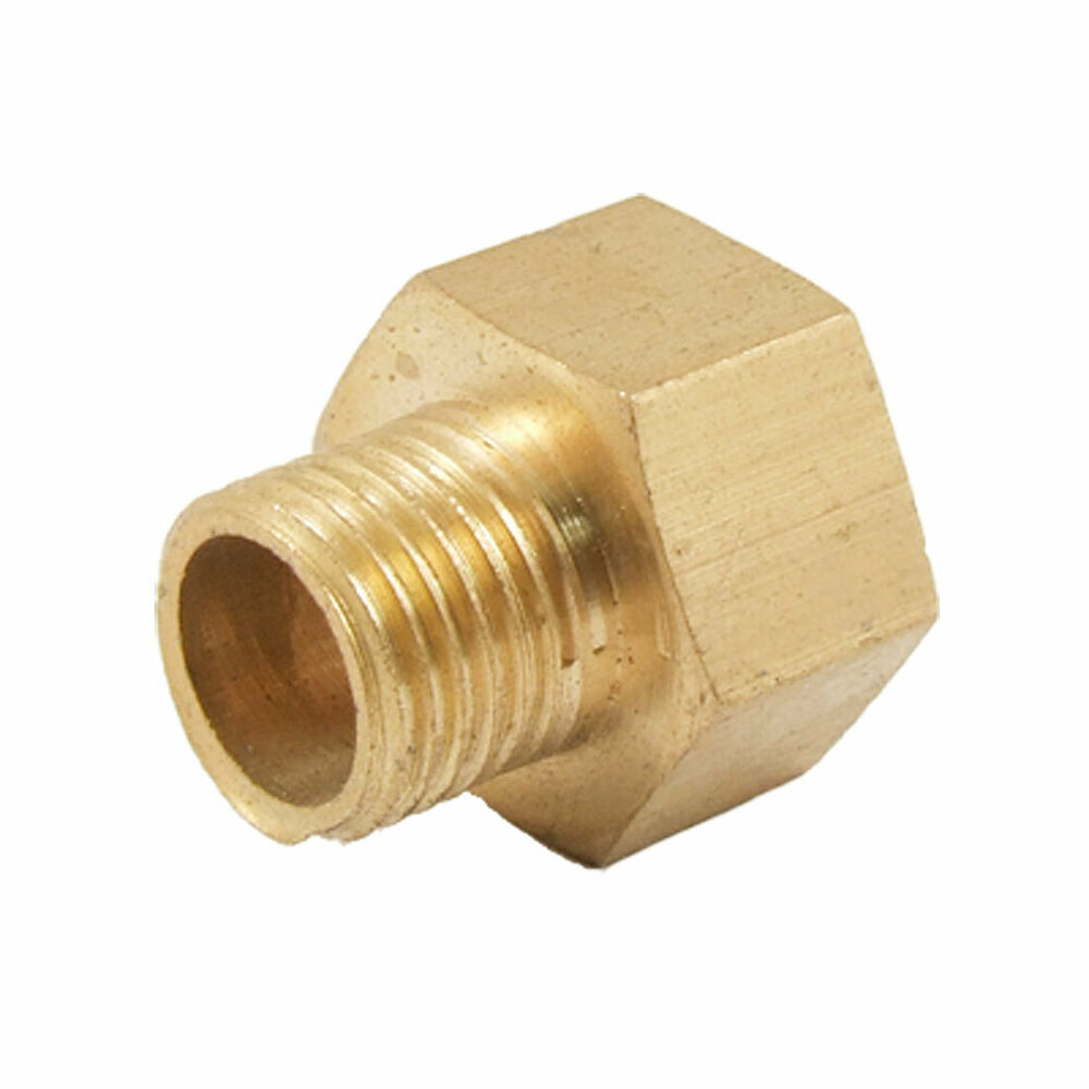 Mm male to female hex thread bushing straight