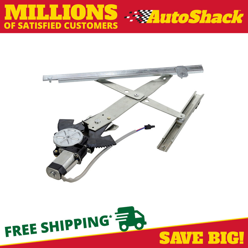 New front passengers side power window regulator with Window motor and regulator cost