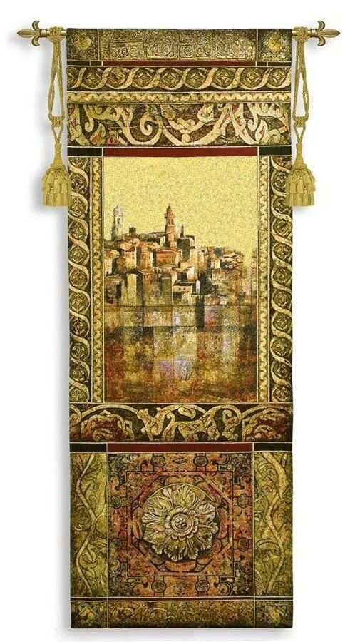 EUROPEAN PANEL I OLD WORLD ART TAPESTRY
