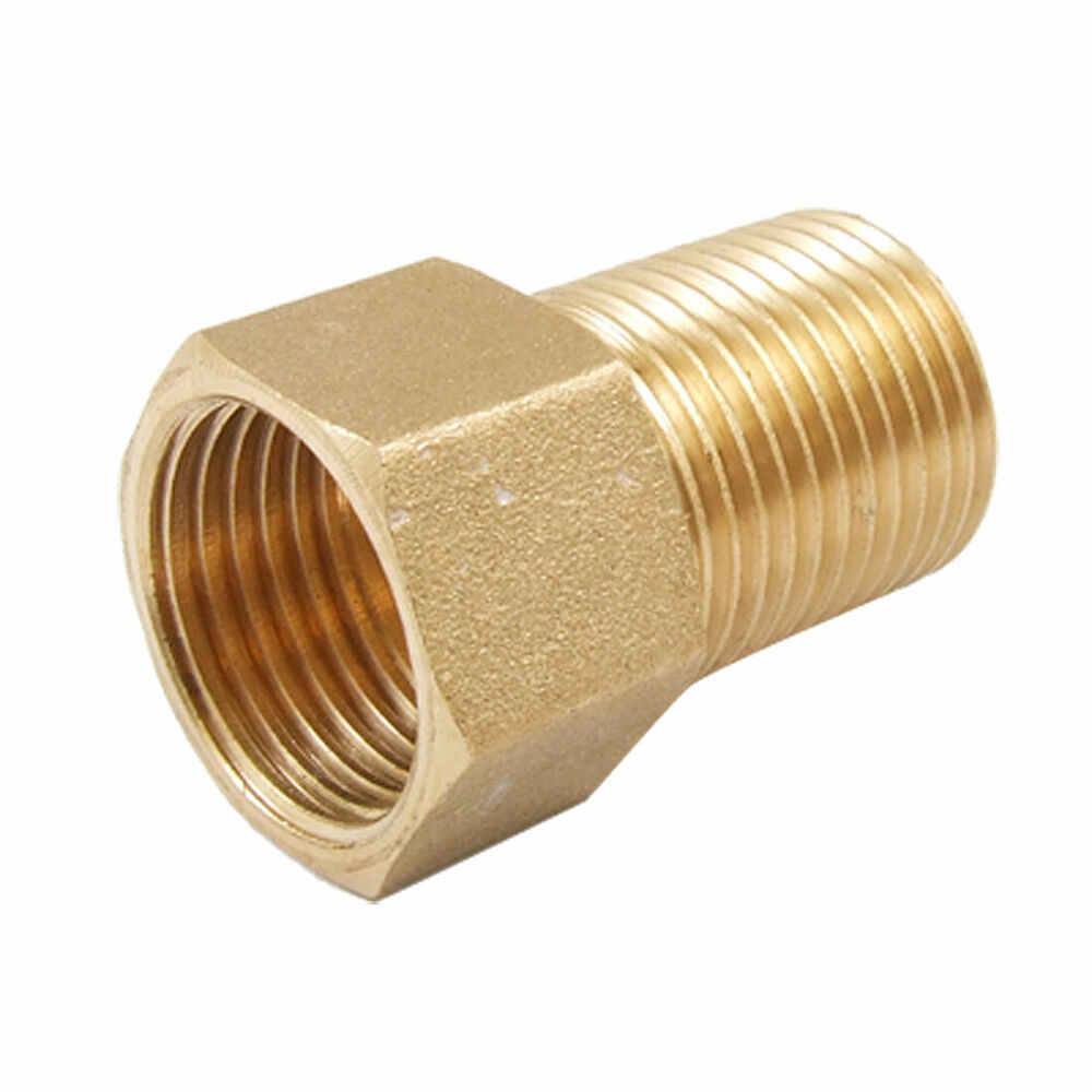Mm male to female hex head bushing straight