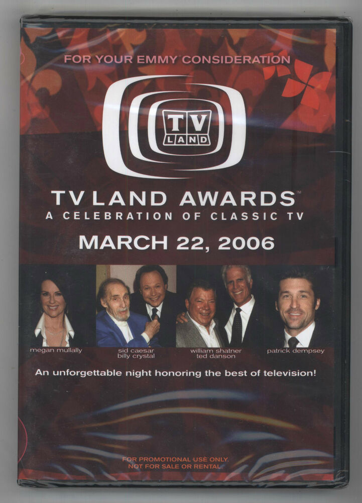 tv land awards march 22 2006 classic tv dvd sealed emmy promo ebay. Black Bedroom Furniture Sets. Home Design Ideas