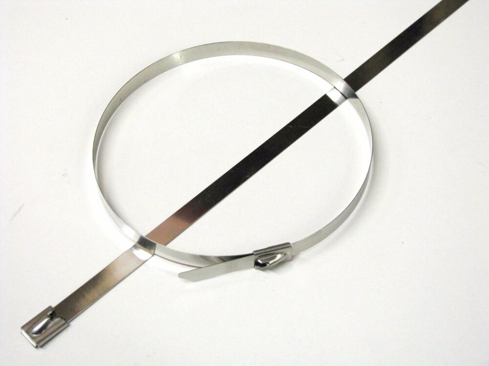 Stainless steel cable ties std or wide multi pack