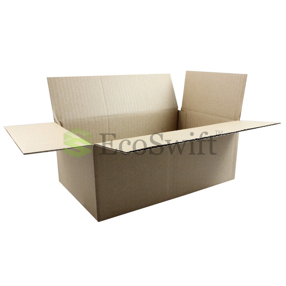 125 10x6x4 cardboard packing mailing moving shipping boxes. Black Bedroom Furniture Sets. Home Design Ideas