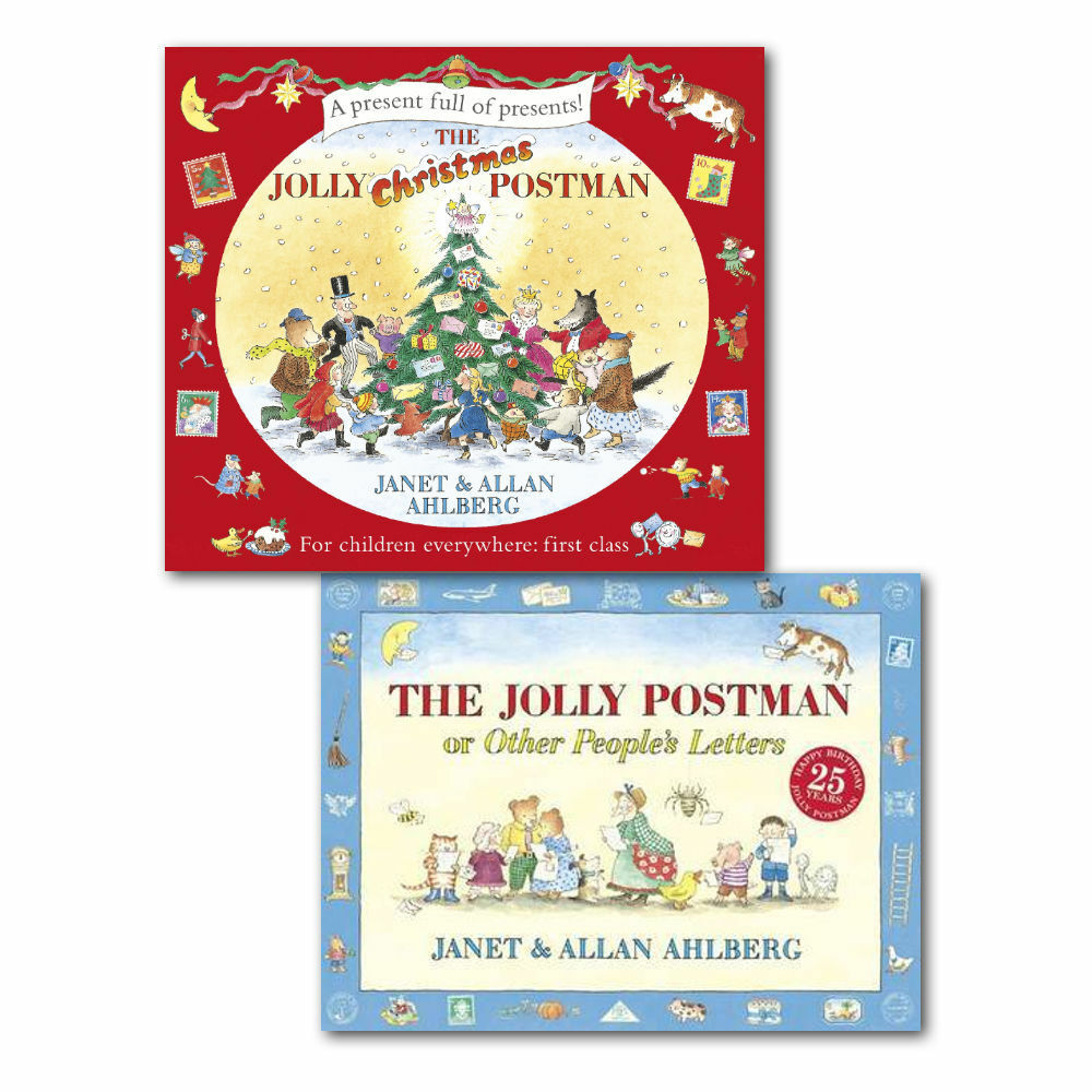 Janet ahlbe the jolly postman collection 2 books children christmas janet ahlbe the jolly postman collection 2 books children christmas gift set ebay spiritdancerdesigns Images